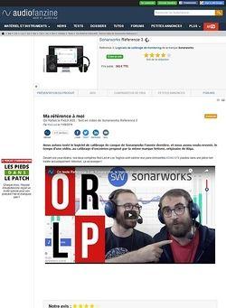 Audiofanzine.com Sonarworks Reference 3