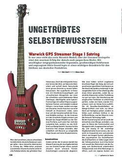 Gitarre & Bass Warwick GPS Streamer Stage I 5string, E-Bass