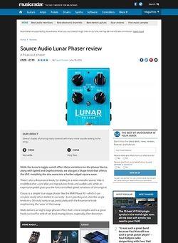 MusicRadar.com Source Audio Lunar Phaser