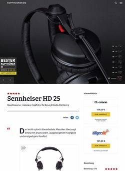 Kopfhoerer.de Sennheiser HD-25