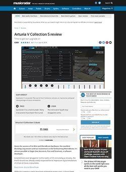 MusicRadar.com Arturia V Collection 5