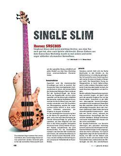Gitarre & Bass Ibanez SRSC805, E-Bass
