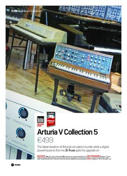 Future Music Arturia V Collection 5