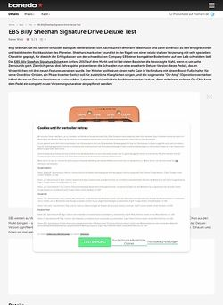 Bonedo.de EBS Billy Sheehan Signature Drive Deluxe