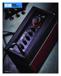 Total Guitar Line 6 Amplifi 30