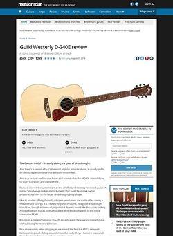 MusicRadar.com Guild Westerly D-240E