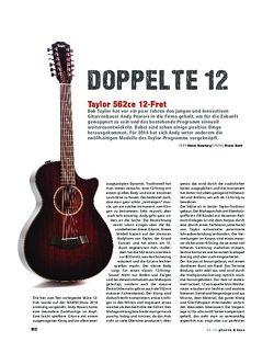 Gitarre & Bass Taylor 562ce 12-Fret