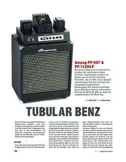 Gitarre & Bass Ampeg PF-50T & PF-112HLF