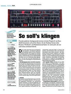 tastenwelt Dave Smith Instruments Sequential Prophet-6