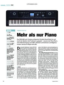 tastenwelt Yamaha DGX-660
