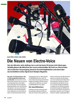 PMA Electro-Voice ND-Serie