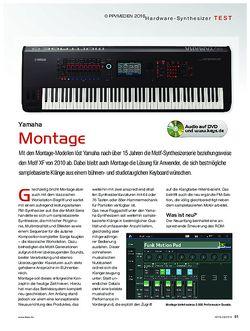 KEYS Yamaha Montage