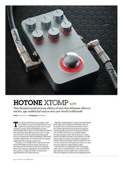 Guitarist Hotone Xtomp