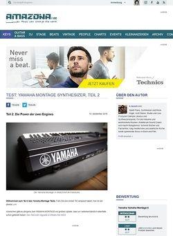 Amazona.de Test: Yamaha Montage Synthesizer, Teil 2