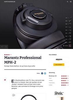 Kopfhoerer.de Marantz MPH-2