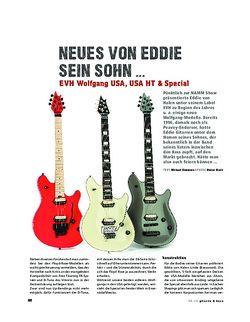 Gitarre & Bass EVH Wolfgang USA, USA HT & Special, E-Gitarren