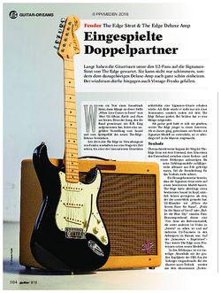 guitar Fender The Edge Strat & The Edge Deluxe Amp