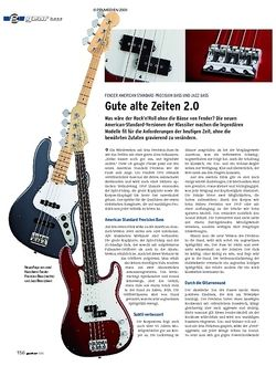 Guitar gear Bass - Fender American Standard Precision Bass & Jazz Bass