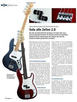 Guitar gear Bass - Fender American Standard Precision Bass & Jazz Bass