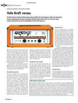 Guitar gear Bassamp - Orange AD 200B MK3 & OBC410/OBC115 Cabinet