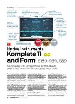Computer Music Native Instruments Form