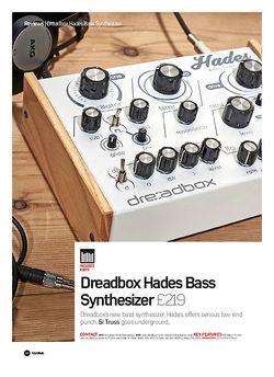 Future Music Dreadbox Hades Bass Synthesizer