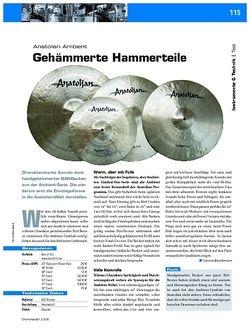 DrumHeads Instrumente & Technik: Anatolian Ambient