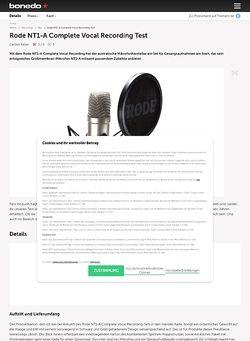 rode nt1 a complete vocal recording. Black Bedroom Furniture Sets. Home Design Ideas
