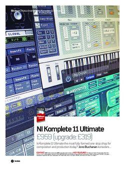 Future Music NI Komplete 11 Ultimate