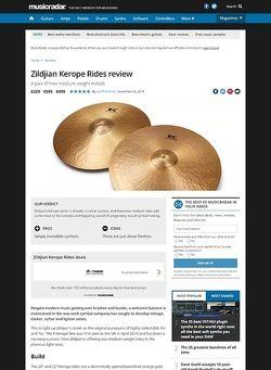 MusicRadar.com Zildjian Kerope Rides