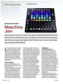 KEYS Maschine Jam