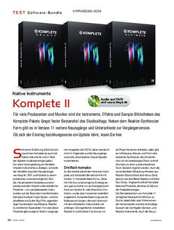 KEYS Native Instruments Komplete 11