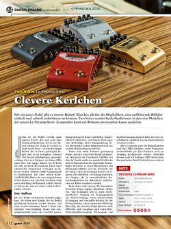 guitar Two Notes Le-Preamp-Serie