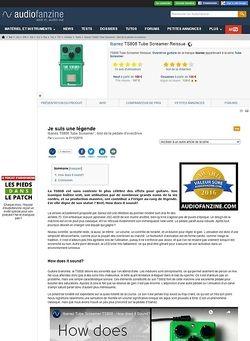 Audiofanzine.com Ibanez TS808 Tube Screamer Reissue