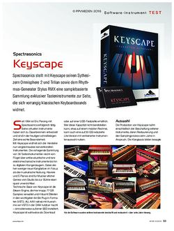 KEYS Spectrasonics Keyscape