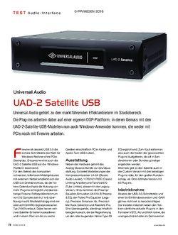 KEYS Universal Audio UAD-2 Satellite USB