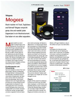 KEYS Mogees Mogees