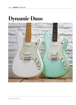 Guitarist Fender Offset Series Mustang 90