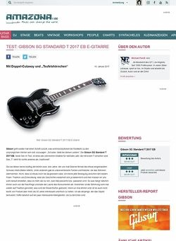 Amazona.de Gibson SG Standard T 2017 EB