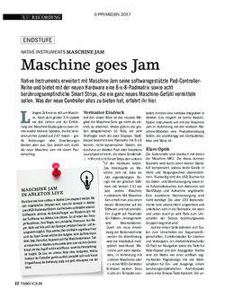 SOUNDCHECK NATIVE INSTRUMENTS MASCHINE JAM
