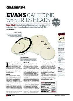 Rhythm Evans Calftone '56 Series Heads