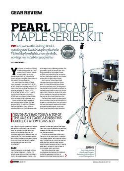 Rhythm Pearl Decade Maple Series Kit