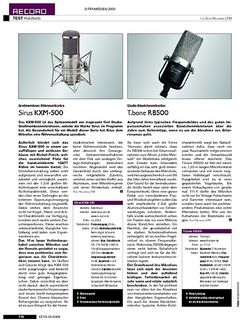 KEYS Kurztests: Mikrofone