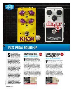 Total Guitar TC Electronic Rusty Fuzz