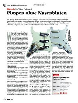 guitar DiMarzio Pre-Wired Pickguards