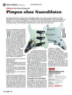guitar DiMarzio Pre-Wired Pickguards