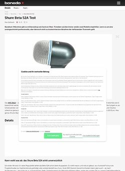 Bonedo.de Shure Beta 52A