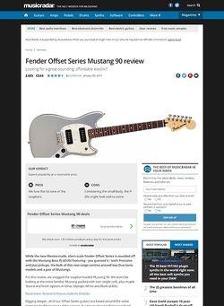 MusicRadar.com Fender Offset Series Mustang 90