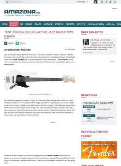 Amazona.de Fender Deluxe Active Jazz Bass V OWT