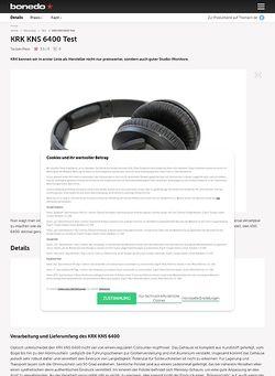 Bonedo.de KRK KNS 6400